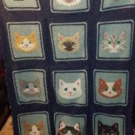 Crochet Cat Blanket Patterns You'll Love | The WHOot | 196x196