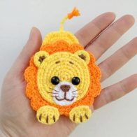 Free Crochet Pattern: Elephant Appliqué - Natalina Craft | 196x196